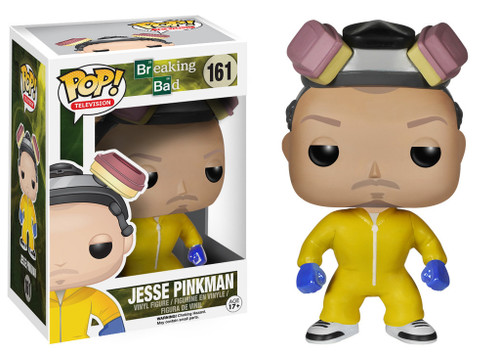 Breaking Bad Funko POP! Television Jesse Pinkman Vinyl Figure #161 [Yellow Hazmat Suit]