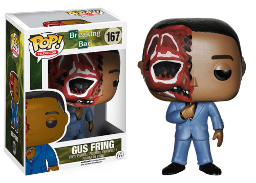 Breaking Bad Funko POP! Television Gus Fring Vinyl Figure #167 [Burnt Face]