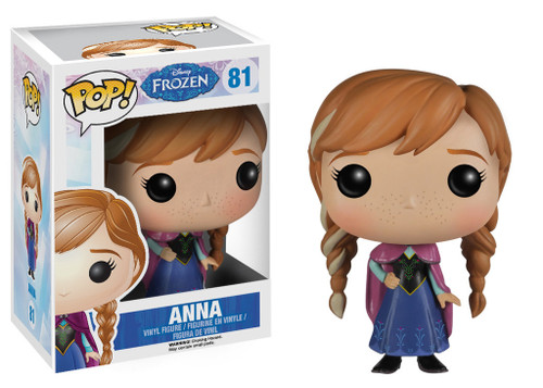 Disney Frozen Funko POP! Movies Anna Vinyl Figure #81