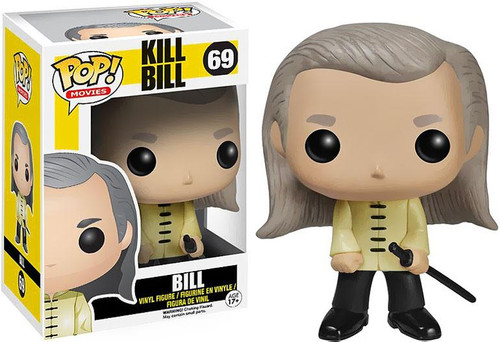 Kill Bill Funko POP! Movies Bill Vinyl Figure #69