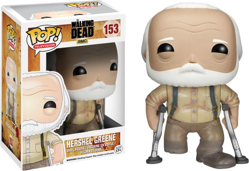Walking Dead Funko POP! Television Hershel Greene Vinyl Figure #153