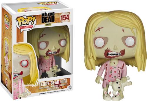 Walking Dead Funko POP! Television Teddy Bear Girl Vinyl Figure #154