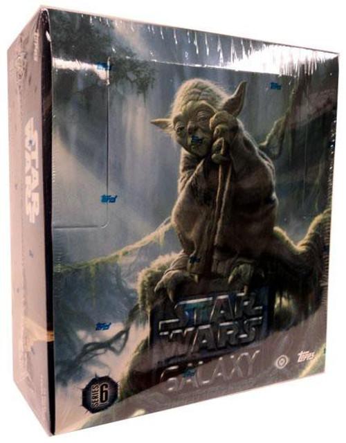 Star Wars Galaxy Series 6 Hobby Edition Trading Card Box