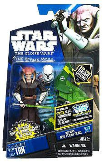 Star Wars The Clone Wars Clone Wars 2011 Saesee Tiin Action Figure CW54
