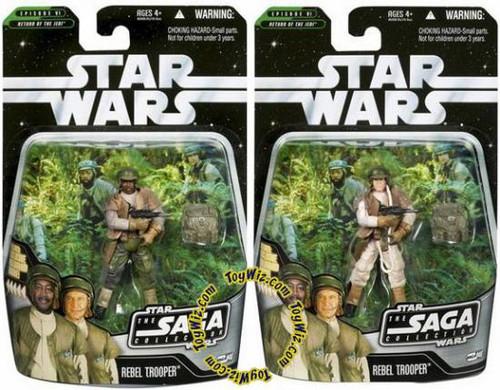 Star Wars Return of the Jedi Saga Collection 2006 Rebel Trooper Action Figure #46 [Random Ethnicity]
