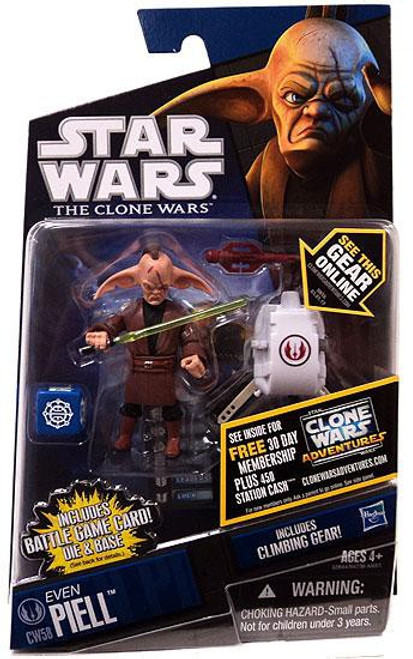 Star Wars The Clone Wars Clone Wars 2011 Even Piell Action Figure CW58