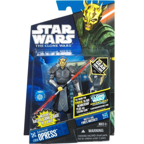 Star Wars The Clone Wars Clone Wars 2011 Savage Opress Action Figure CW59 [Armored]