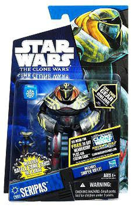 Star Wars The Clone Wars Clone Wars 2011 Seripas Action Figure CW61