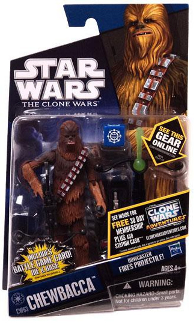 Star Wars The Clone Wars Clone Wars 2011 Chewbacca Action Figure CW63 [Kashyyyk Warrior]