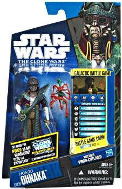 Star Wars The Clone Wars Clone Wars 2011 Hondo Ohnaka Action Figure CW39