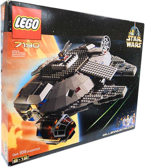 LEGO Star Wars A New Hope Millennium Falcon Set #7190