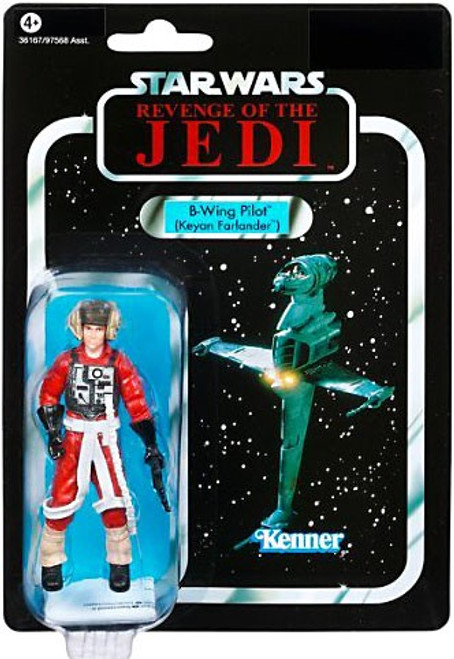 Star Wars Return of the Jedi Vintage Collection 2011 B-Wing Pilot Action Figure #63 [Keyan Farlander]