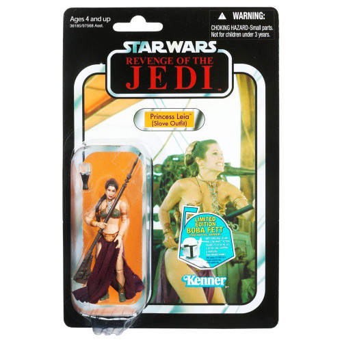 Star Wars Return of the Jedi Vintage Collection 2011 Princess Leia Action Figure #64 [Jabba's Slave]