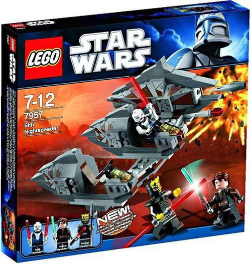 LEGO Star Wars The Clone Wars Sith Nightspeeder Set #7957