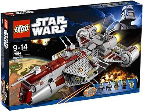 LEGO Star Wars The Clone Wars Republic Frigate Set #7964