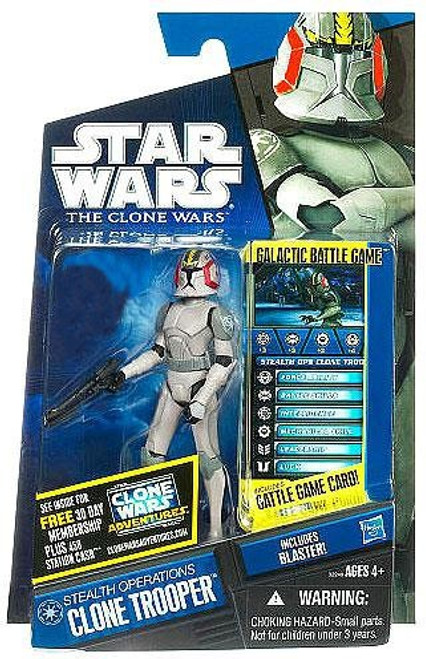 Star Wars The Clone Wars Clone Wars 2011 Stealth Operations Clone Trooper Exclusive Action Figure