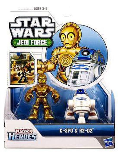 Star Wars Jedi Force C-3PO & R2-D2 Mini Figure 2-Pack