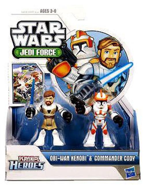 Star Wars Jedi Force Obi-Wan Kenobi & Commander Cody Mini Figure 2-Pack