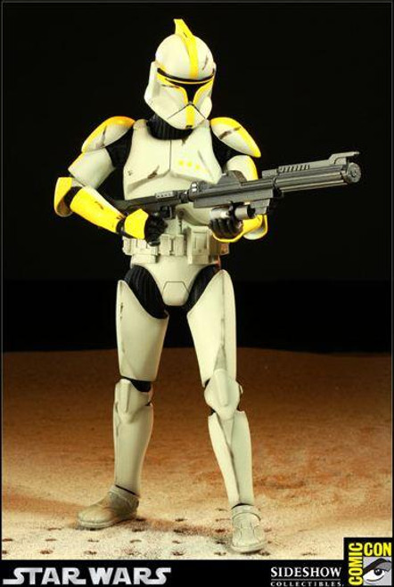 Star Wars Attack of the Clones Exclusives Clone Commander Exclusive 12 Inch Action Figure [Phase 1]