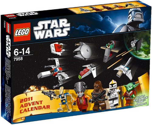 LEGO Star Wars 2011 Advent Calendar Set #7958