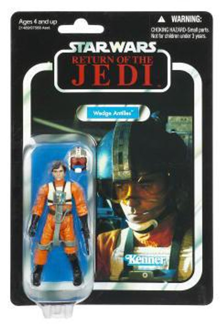 Star Wars Return of the Jedi Vintage Collection 2011 Wedge Antilles Action Figure #28 [Damaged Package]