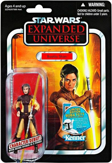 Star Wars Expanded Universe Vintage Collection 2011 Bastila Shan Action Figure #69