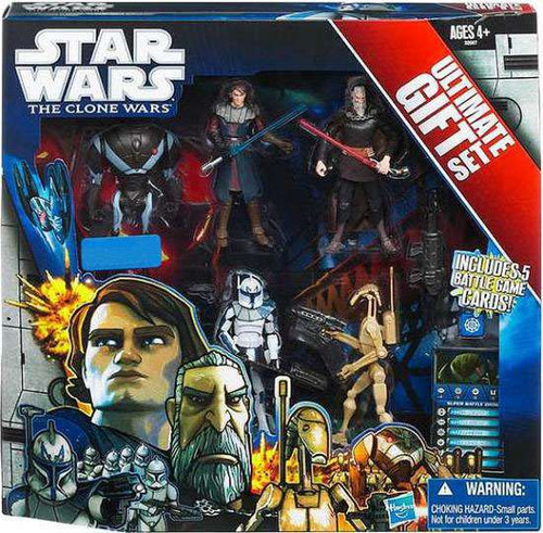 Star Wars The Clone Wars Boxed Sets 2011 Ultimate Gift Set Exclusive Action Figure Set