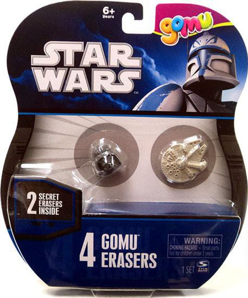 Star Wars Gomu Erasers 4-Pack