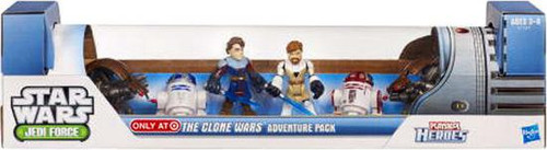 Star Wars Jedi Force The Clone Wars Adventure Pack Exclusive Mini Figure Set