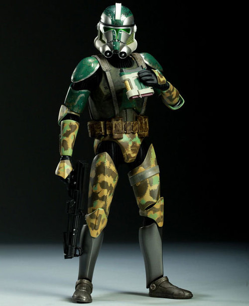 The Clone Wars Militaries of Star Wars Sixth Scale Commander Gree 12 Inch Action Figure