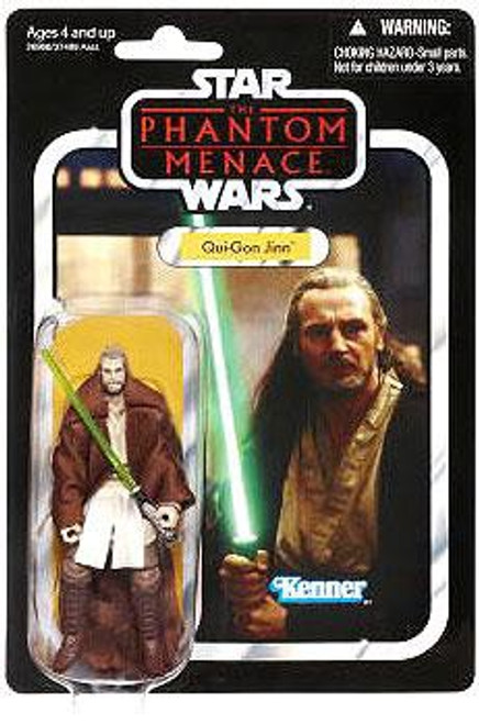 Star Wars The Phantom Menace Vintage Collection 2012 Qui-Gon Action Figure #75