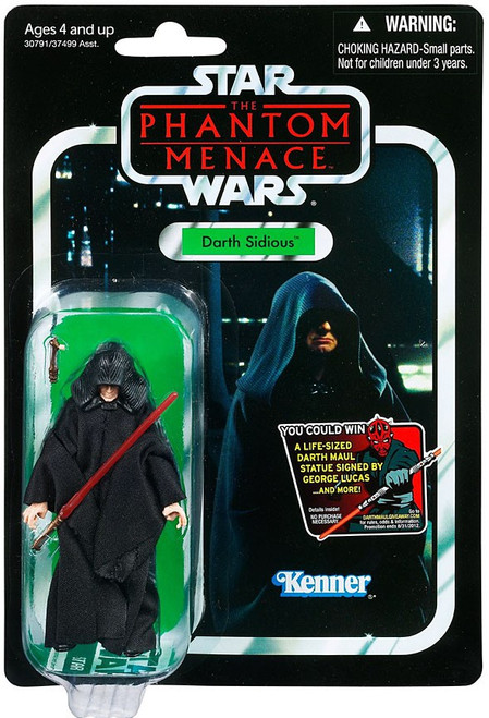Star Wars The Phantom Menace Vintage Collection 2012 Darth Sidious Action Figure #79