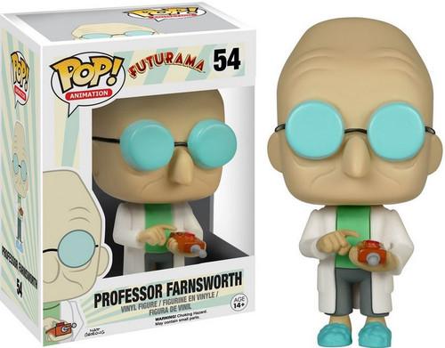 Funko Futurama Pop Animation Professor Farnsworth Vinyl