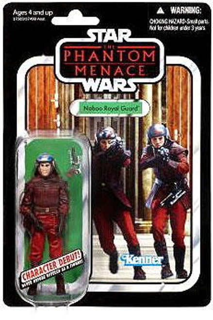 Star Wars The Phantom Menace Vintage Collection 2012 Naboo Royal Guard Action Figure #83