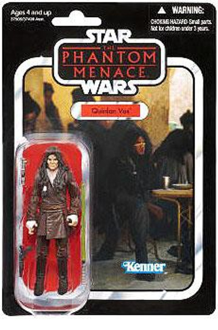 Star Wars The Phantom Menace Vintage Collection 2012 Quinlan Vos Action Figure #85