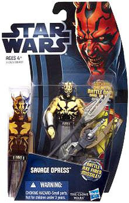 Star Wars The Clone Wars Clone Wars 2012 Savage Opress Action Figure CW03