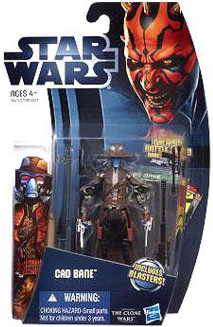 Star Wars The Clone Wars Clone Wars 2012 Cad Bane Action Figure CW04