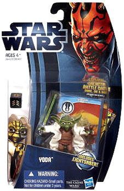 Star Wars The Clone Wars Clone Wars 2012 Yoda Action Figure CW05