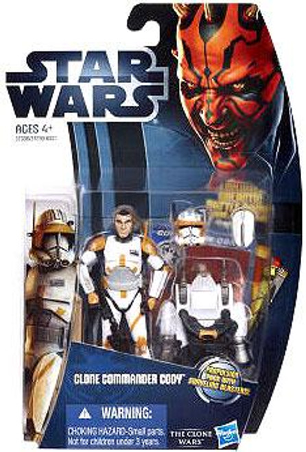 Star Wars The Clone Wars Clone Wars 2012 Clone Commander Cody Action Figure CW07