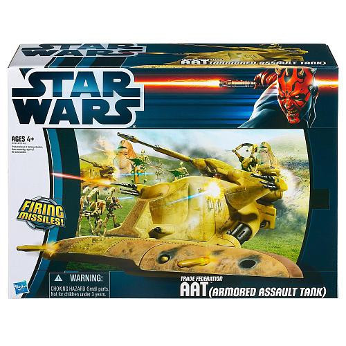 Star Wars The Phantom Menace Vehicles 2012 Trade Federation AAT Action Figure Vehicle [Armored Assault Tank]