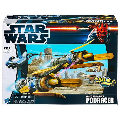 Star Wars The Empire Strikes Back Vehicles 2012 Anakin Skywalker's Podracer Action Figure Vehicle
