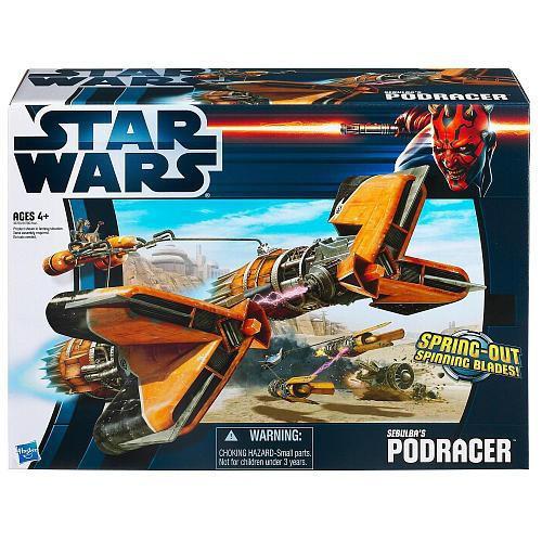 Star Wars The Empire Strikes Back Vehicles 2012 Sebulba's Podracer Action Figure Vehicle