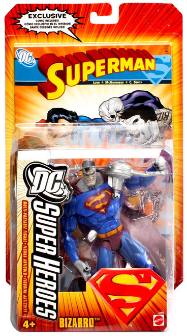 Superman DC Super Heroes Series 2 Bizarro Action Figure