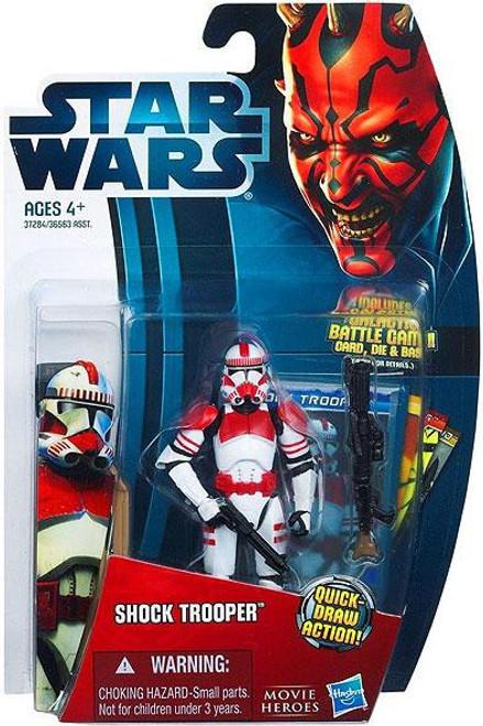 Star Wars Revenge of the Sith Movie Heroes 2012 Shock Trooper Action Figure #1