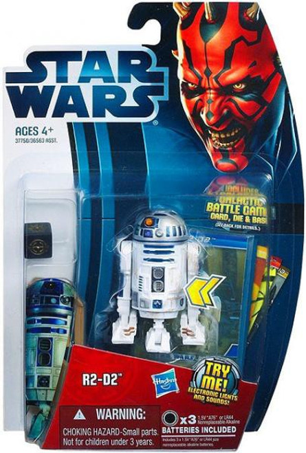 Star Wars The Phantom Menace Movie Heroes 2012 R2-D2 Action Figure #3