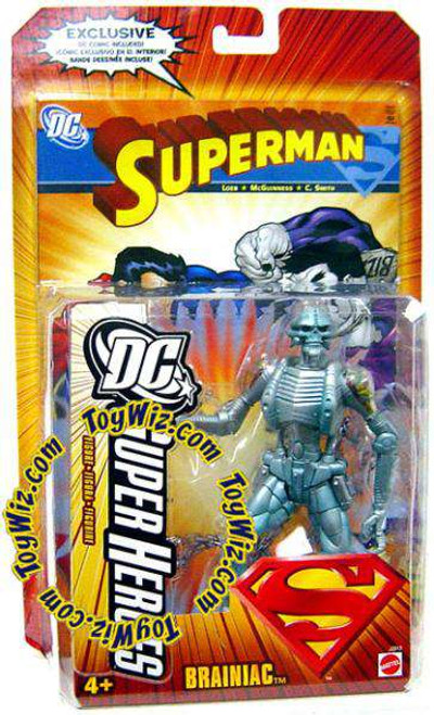 Superman DC Super Heroes Series 4 Brainiac Action Figure