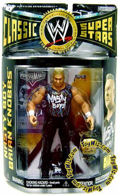 WWE Wrestling Classic Superstars Series 12 Nasty Boy Brian Knobbs Action Figure