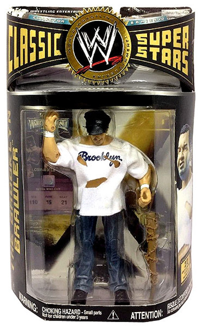 WWE Wrestling Classic Superstars Series 12 The Brooklyn Brawler Action Figure