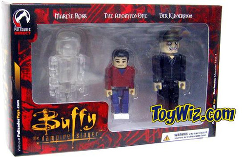 Buffy The Vampire Slayer PALz Monster Pack #1 Exclusive Mini Figure Set