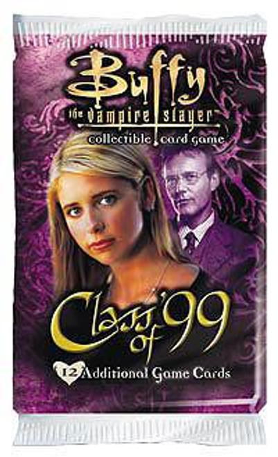 Buffy The Vampire Slayer Collectible Card Game Class of '99 Booster Pack